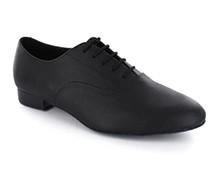 72baf5ce01efe9 Black Leather   Black Leather Sneaker DS110501