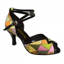 Multi-color Patent Leather Sandal adls372105