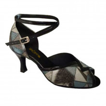 Multi-color Patent Leather Sandal adls372106