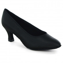 Black Satin Pump  LP680106