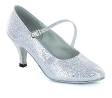 Silver sparkle Pump  LP685203