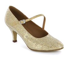 Gold sparkle Pump  LP685204