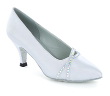 White satin Pump  LP691303