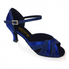 Royal Blue Satin & Sparkle Sandal adls89912
