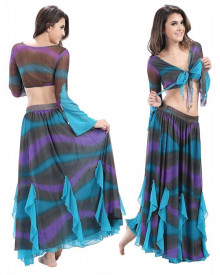 Purple & Blue Dress  BED-PS2038-02