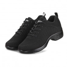 Black Net Dance Sneaker DS670001