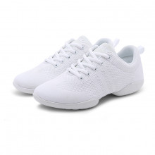 White Net Dance Sneaker DS670801