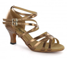 Bronze leather Sandal  fls1621-3