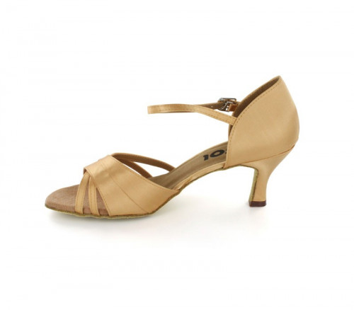 Tan Satin Sandal  LS160202