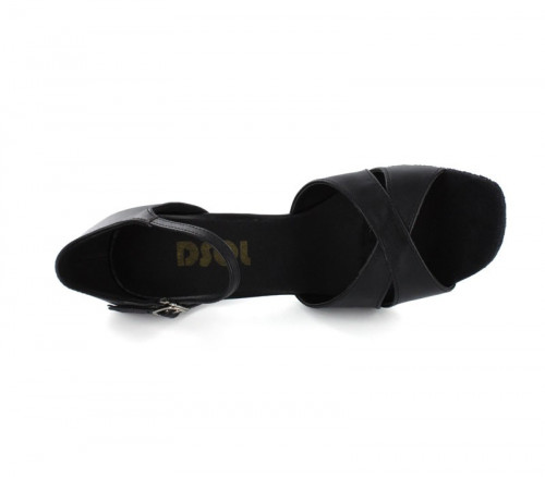 Black Imitated Leather Sandal  LS161513