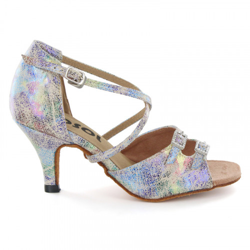 Multi-color Patent Leather Sandal LS162509