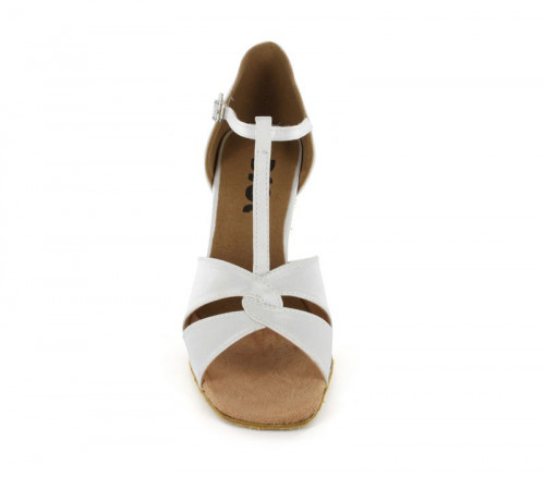 White Satin Sandal  LS163201
