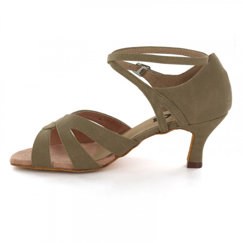 Tan-Brown Nubuck Sandal  LS165809