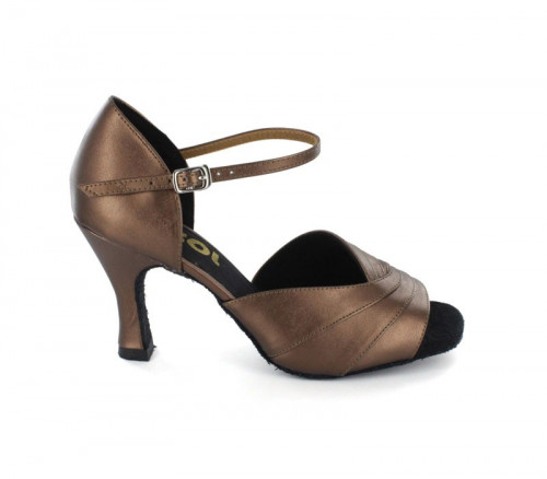 Bronze Patent Leather Sandal  LS167602