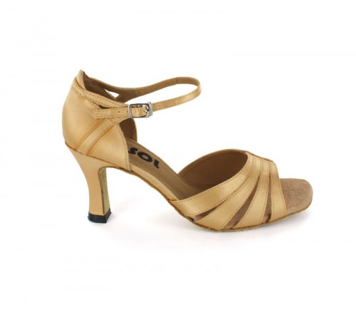 Tan Satin Sandal  LS168002