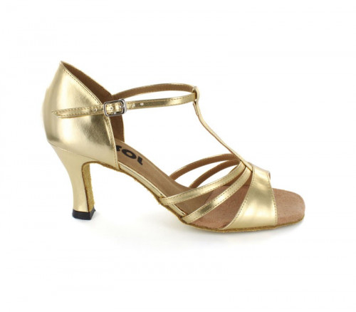 Gold patent leather Sandal  LS168302