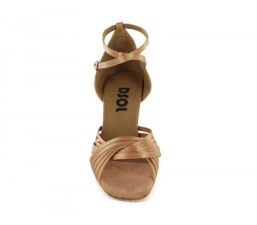 Light Tan Satin Sandal  LS168604-1