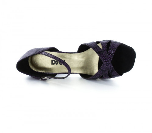 Puple & black Sandal  LS174304