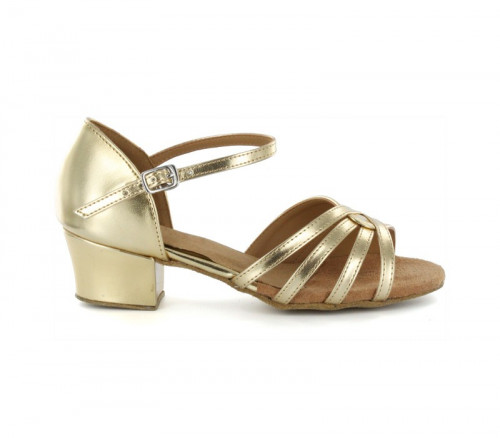 Gold Patent Leather Sandal  LS174903