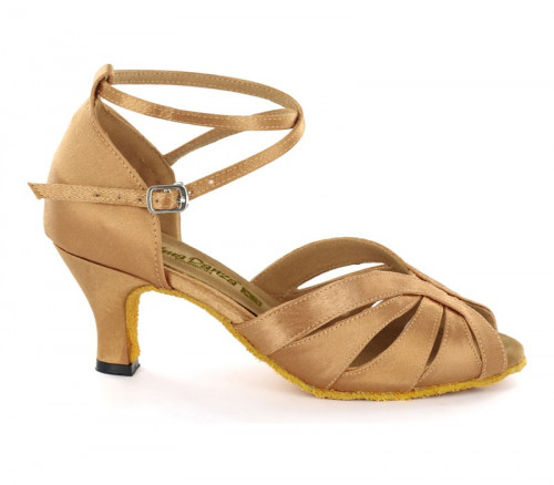 Flesh Satin Sandal  A271303