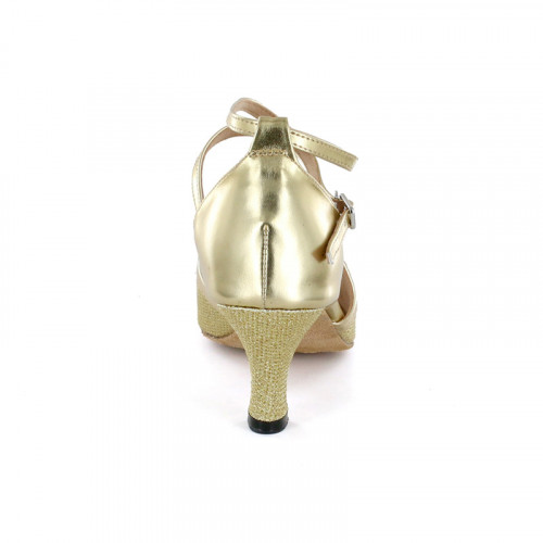 Gold Patent Leather Sandal adls374201