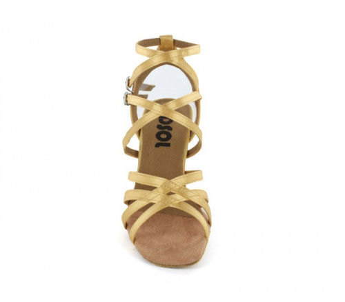 Tan Satin Sandal  LS500802