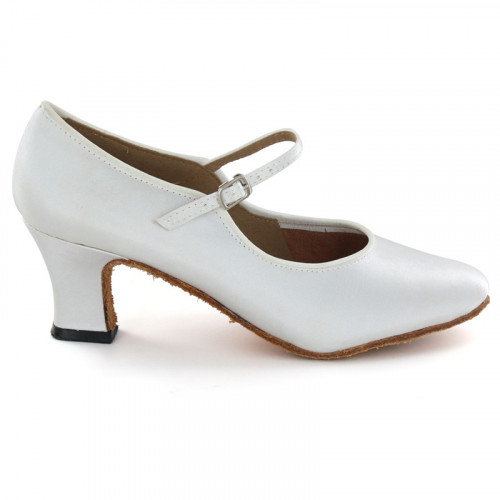 White Satin Pump  LP680301