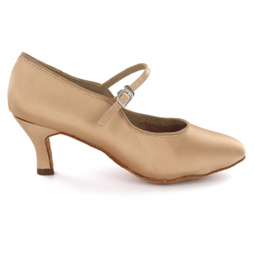 Tan Satin Pump  LP680304