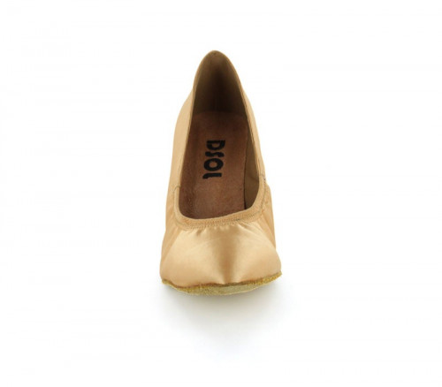 Tan Satin Pump  LP680407
