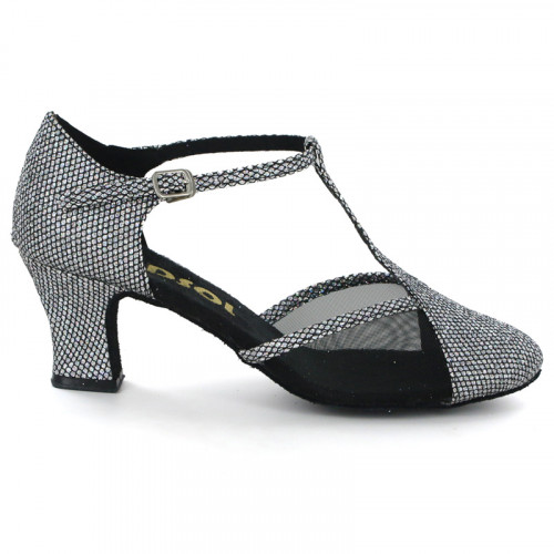 Black & Silver dots with Mesh Pump  LP682702