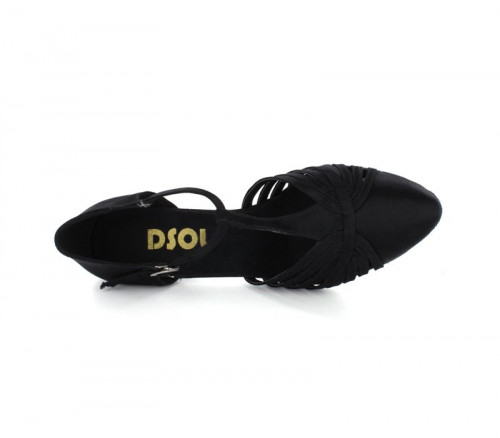 Black Satin Close-toe  LP682902-1
