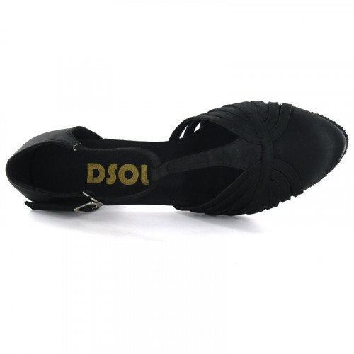 Black Satin Close-toe  LP682902