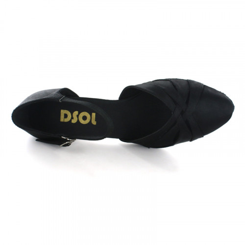Black Satin Close-toe  LP683002