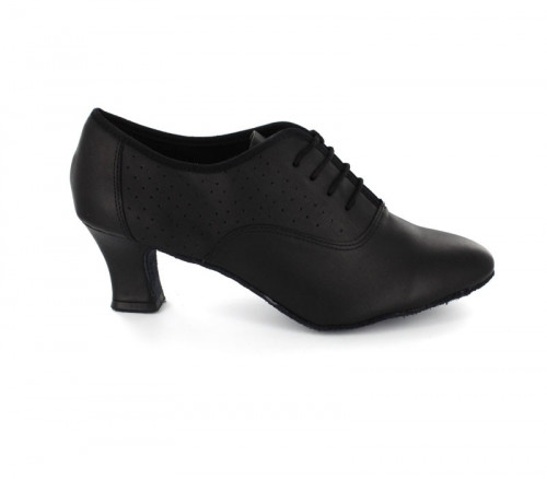Black Leather Pump  LP684801