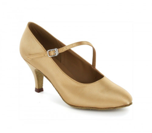 Apricot satin Pump  LP685205