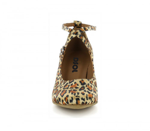 Leopard satin Pump  LP685302