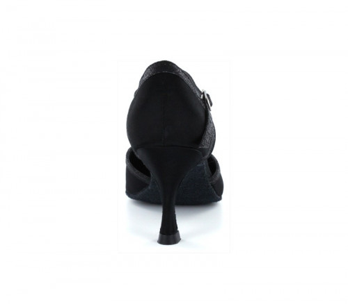 Black satin Pump  LP685503