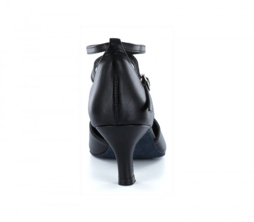 Black leather Pump  LP685610