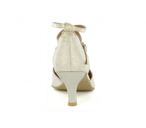 White & yellow patent Pump  LP685611