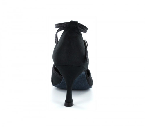 Black satin Pump  LP685702