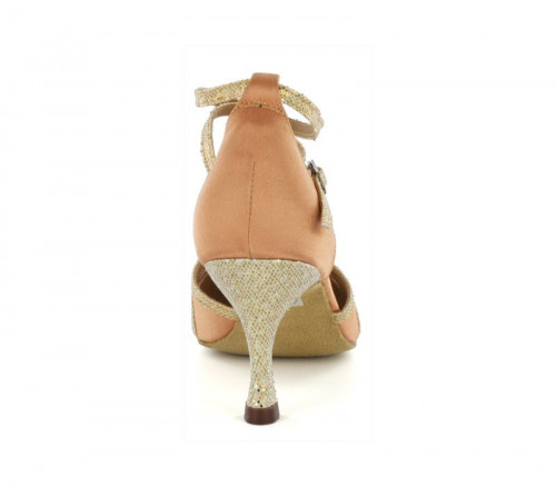 Light brown satin Pump  LP685704