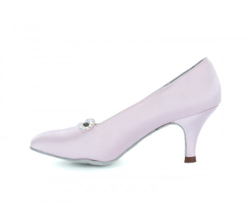 Light pink satin Pump  LP691304