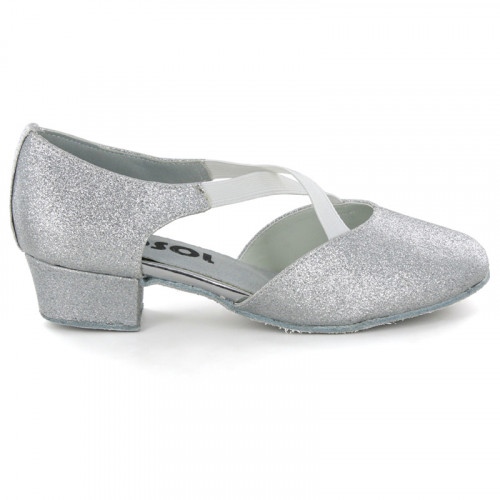 Silver sparkle Pump  LP730702