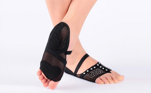 Black Sock with Rhinestones BL705801
