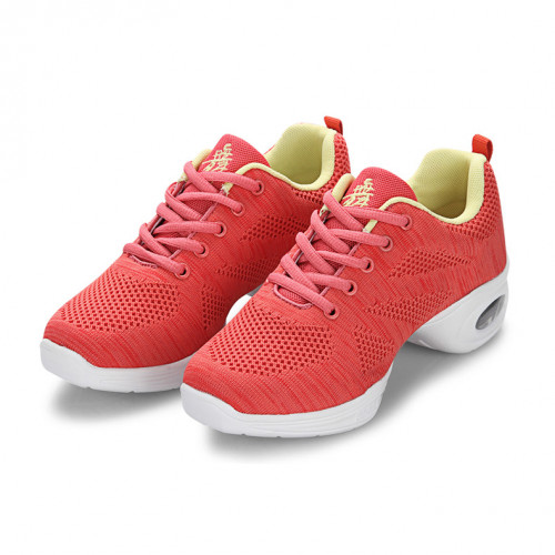 Red Net Dance Sneaker DS669303
