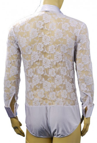 Mens Latin Shirt M016